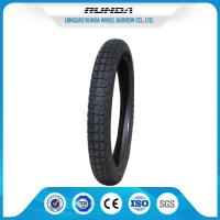 Buy cheap Low Loise Tricycle Rubber Tires2.75-14 TT 35%-55% Rubber Content SGS Certificate product