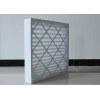 Buy cheap FRS - PPF  Disposable  G4 Pleated Panel Filter Pre Filtering HVAC  MAU System Supply product