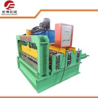 Buy cheap PPGI Curving Roofing Sheet Crimping Machine , Hydraulic Sheet Bending Machine from wholesalers