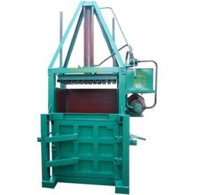 Buy cheap Compressor Supermarket Garbage / Carton / Waste Paper Baler Machine from wholesalers