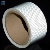 """Buy cheap Semi Trailer Wide Transparent Reflective Tape High Intensity Glass Bead 2"""" x 30' Roll product"""