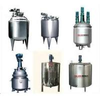 Quality Stainless steel  High shearing homogenizer single tank Liquid  / Detergent Blending machine, Liquid Agitators for sale