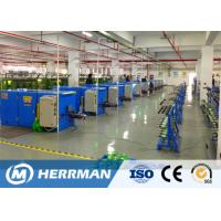 Buy cheap High Production Automatic Wire Twisting Machine , Wire Buncher Machine For Data Cable product