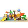 Buy cheap Little Kindergarten Tube Kids Outdoor Plastic Slide Amusement Park Games product