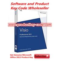 China  Microsoft Office Product Key Codes For Microsoft Office visio 2013 Professional, PC Download  for sale