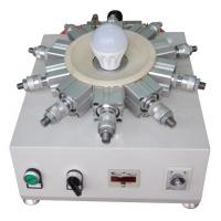 Buy cheap Bulb Cap Punching Crimping For LED Bulb Cap E40 B22 Production Assembly Line from wholesalers