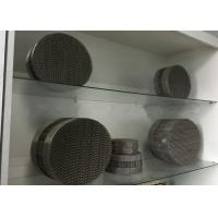 Buy cheap Stainless Steel Metal Mesh Corrugated Regular Packing For Chemical Distillation Tower product