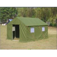 Buy cheap Green Cotton Military Canvas Tents Easy To Install With Stable Structure product