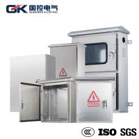 Buy cheap OEM Offered Stainless Steel Industrial Enclosures / Electrical Metal Cabinets product