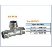 Buy cheap brass plumbing fitting tee male product