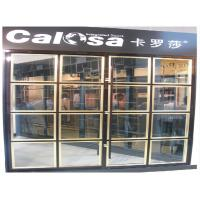 Buy cheap Custom Heavy Duty Interior Sliding Door With Aluminum Frame For Office, Home Furniture product