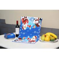 Buy cheap Superfine Fiber Christmas Tea Towels Reactive Printed With Square Shape product