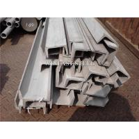 China U Channel Stainless Steel Channel Bar Bright Surface For Industrial on sale