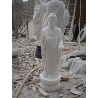 Buy cheap Marble Carved Large Amitabha Buddha Statues product