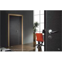 Buy cheap Soundproof Interior Side Hinged Door, Fir Wood Vertical Hinged Door For Business from wholesalers