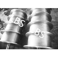 Buy cheap High Performance Steel Wire Rope Drum , Fully Machined Lebus Grooved Drum product