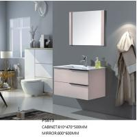 Buy cheap Modern Wall Mounted Sink Vanity , Bathroom Wall Hanging Cabinets Custom Made product
