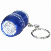 Buy cheap 6-piece LED Torch with 13,000mcd Brightness and 2 x CR2032 Battery product