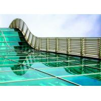 Buy cheap Skylight 5mm two layers laminated toughened glass , Processed Solid Bent Laminated Glass product