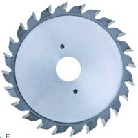 Buy cheap Adjustable Scoring T.C.T Saw Blade , Metal Saw Blades To Score The Coating On Laminated Tooth Model F product