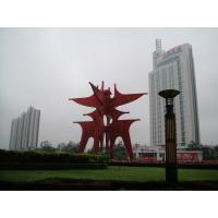 Buy cheap 14 meter height Beautiful and colorful butterfly Urban Stainless steel sculpture product