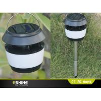 Quality ABS 8 LEDs Solar Led Street Lights For Garden with Stainless Steel Rod for sale
