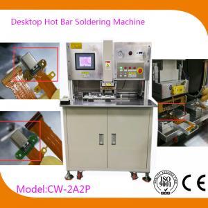 Buy cheap Professional Hot Bar Bonding Machine Soldering FFC HSC-Flexible Circuit Board Soldering Machine product