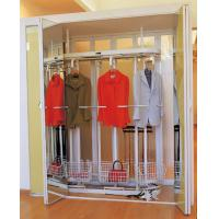 Buy cheap Aluminum Frame Champagne Rotating Clothes Rack, 1900mm Height Revolving Metal Garment Rack product