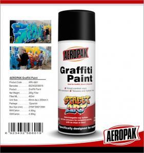 Buy cheap 280g Multi Colors Ironlak Graffiti Spray Paint Art UV Resistance For Outdoor product