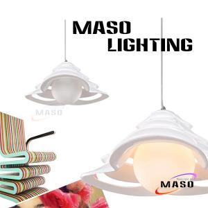 Indoor Multi-layer Cap Resin Shade Residential Lighting Pendant Lamp Warm White CCT