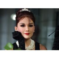 China Custom Made Audrey Hepburn Wax Figure Famous Wax Statues Nature color wholesale