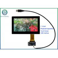 Buy cheap ROHS 7'' USB PCAP Projected Capacitive Smart Home Touch Panel For Appliances product