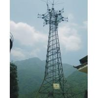 Buy cheap Steel Structure Construction Self Support Tower Telecommunication Tower Types 15 M ~ 30 M product