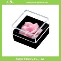 Buy cheap 16*16*1cm Poly Styrene Transparent Plastic Box With Cover product