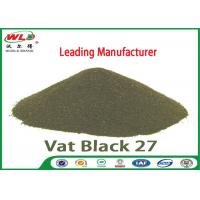 Buy cheap C I Vat Black 27 Olive R Black Cotton Dye Textile Dyeing Chemicals product