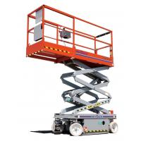 Buy cheap Self - propelled aerial work platform Self - locking with 500kg Rated load product