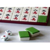 Buy cheap Blue / Green Back  Mahjong Tiles Mahjong Cheating Devices With IR Marks For Cheating product
