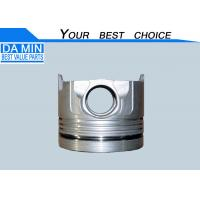 Buy cheap Metal 1.65 KG ISUZU Piston , CXZ81K / EXZ81D Isuzu Spare Parts 1121119260 product