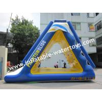 China  0.9MM Thickness PVC Tarpaulin inflatable water slide for adults and kids Used in the sea  for sale