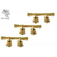 Quality Decoration Plastic Coffin Swing Handle Funeral Golden PP Recycle Material H9007 for sale