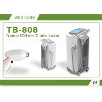 China Big Spot 12 * 20 808nm Diode Laser Depilation Permanent Hair Removal Machine wholesale