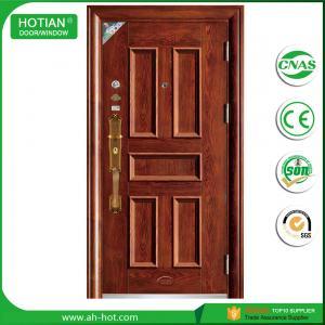 Buy cheap Single door high security steel door price residential entry door product