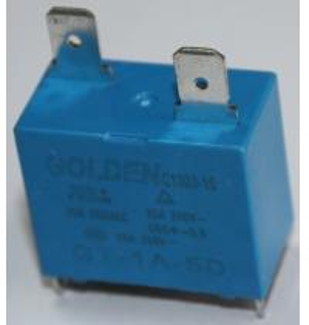 Buy cheap Blue GT-1A-12D 25A 12 Volt 2 Pin Relay Environmental Friendly Custom product