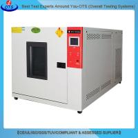 China Chemical laboratory equipments benchtop temperature chamber constant environmental climate test chamber on sale
