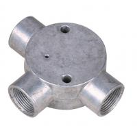 "Buy cheap BS Threaded Three Way Junction Box , Weatherproof Metal Conduit Box 1/2"" 3/4"" product"