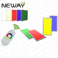 Buy cheap 300x300 11W RGB Dimmable Remote Control LED Panle Light product