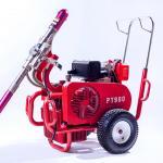Diesel Engine Electric Paint Sprayer Airless Sprayer Piston Pump 250 Bar 13.5