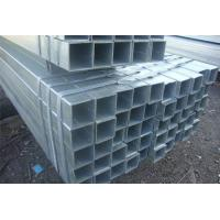 China BS EN39 Pre Galvanized Rectangular Steel Tubing For Low Pressure Liquid Delivery on sale