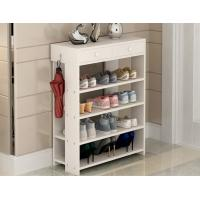 Buy cheap 15mm Simple Style Particle Board Shoe Rack Storage With Different Colors product