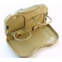 Buy cheap Multifunction car cup holder Folding Plastic Car Tray Table, car Food tray product